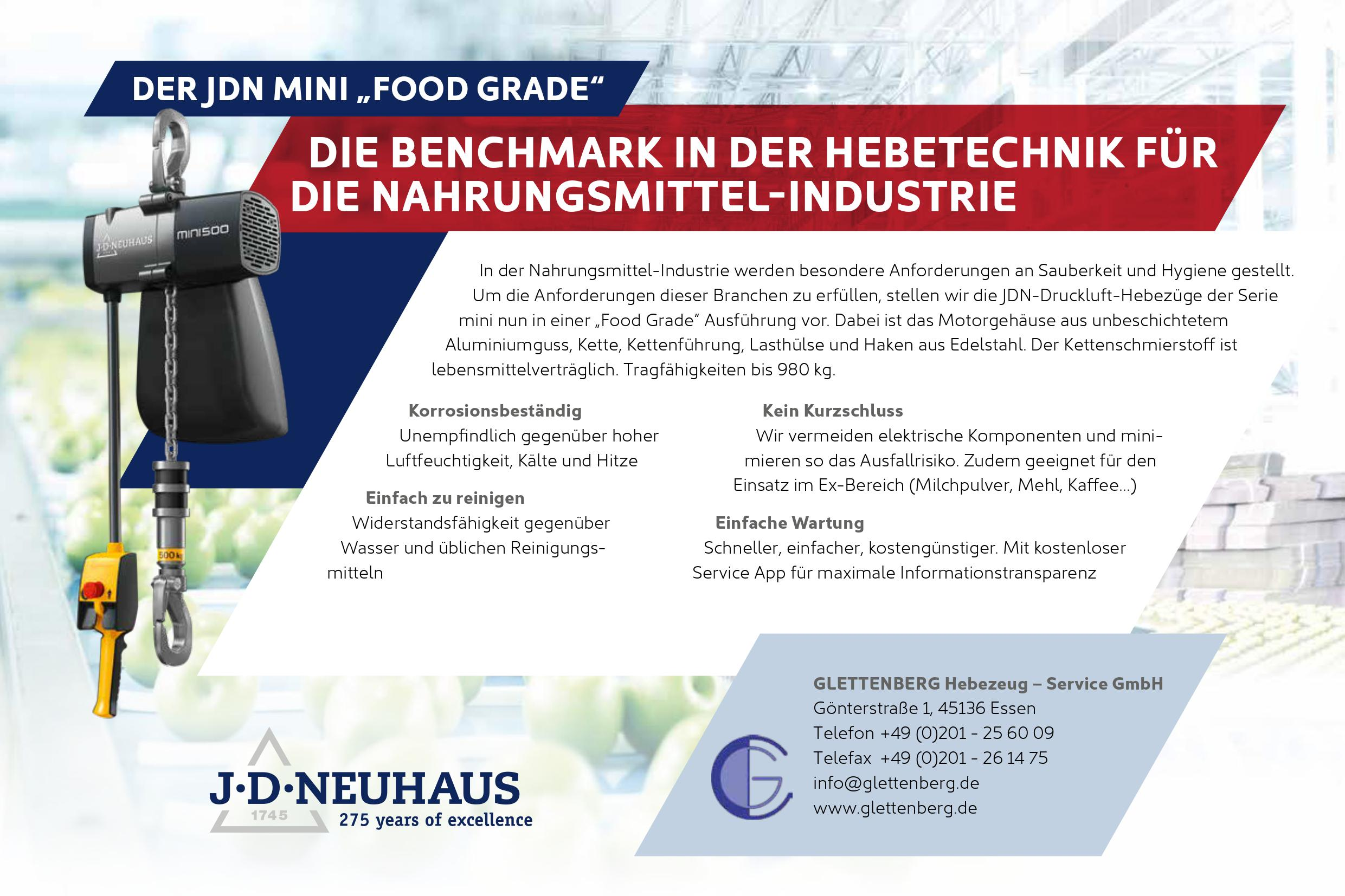 Foodgrade JDN